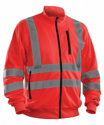 Blaklader 3358 High visibility Sweatshirt (Red High Vis)